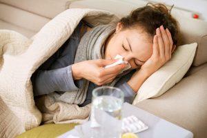 Cuidando una gripa